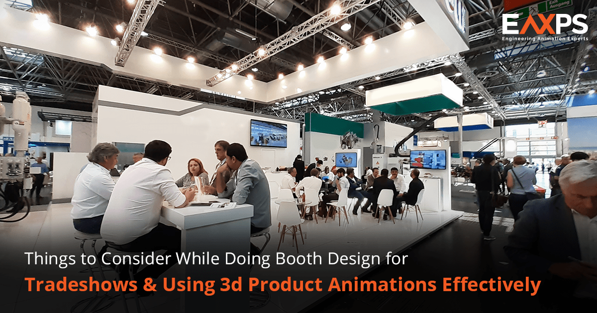 3D Product Animation For Trade Show