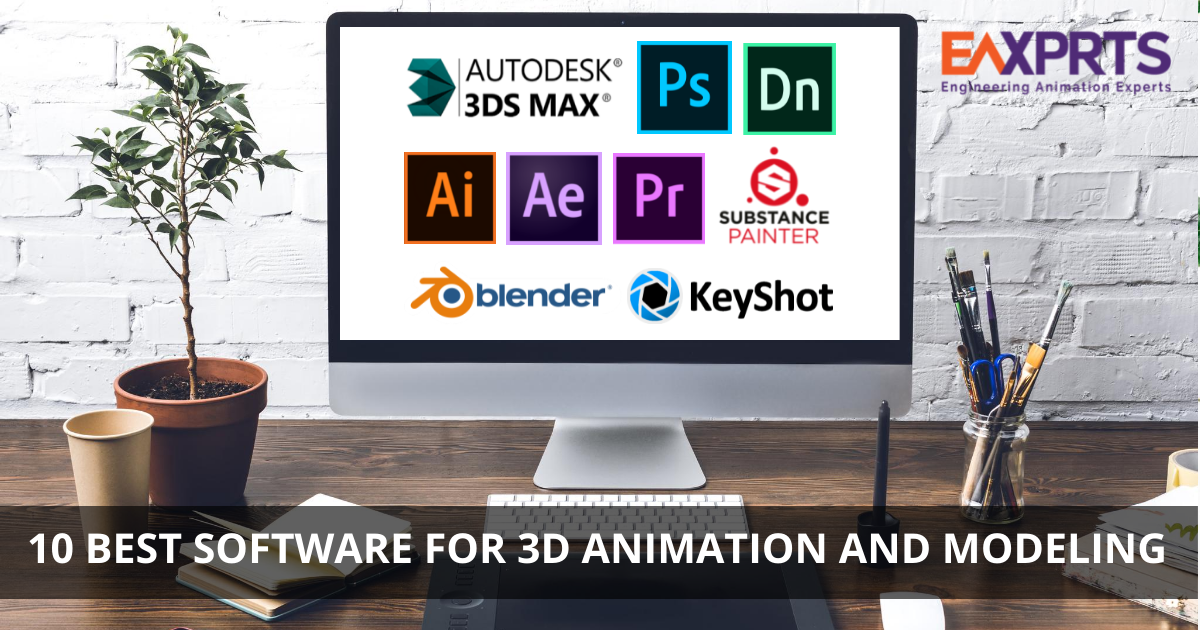List of 10 best Software for 3D Animation and Modeling