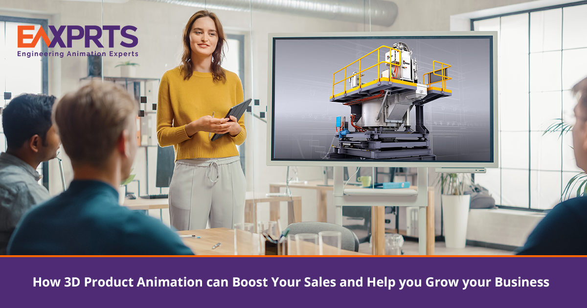 How 3D Product Animation Can Boost Your Sales and Help you Grow your Business