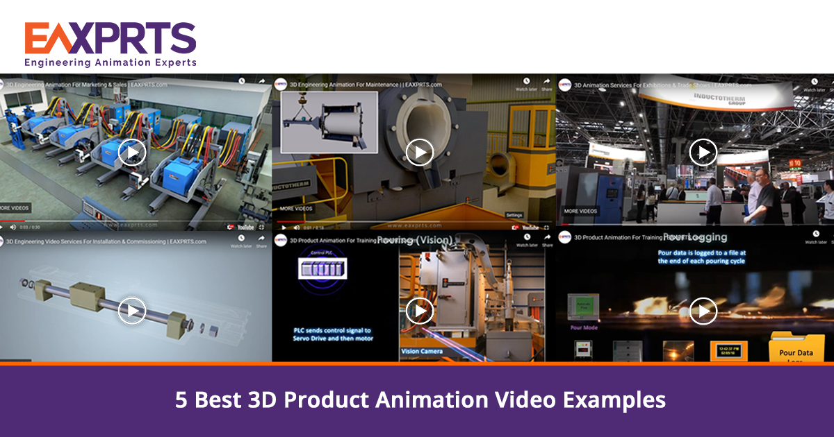 5 Best 3D Product Animation Video Examples